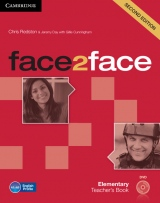 face2face 2nd edition Elementary Teacher´s Book with DVD