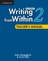 Writing from Within Level 2 Teacher´s Manual