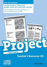 Project 1- 5 Third Edition Teacher´s Resource CD-ROM