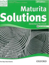 Maturita Solutions (2nd Edition) Elementary Workbook with online audio