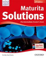 Maturita Solutions (2nd Edition) Pre-Intermediate Student´s Book CZ