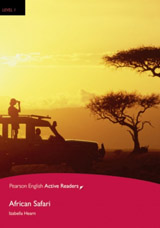 Pearson English Active Reading 1 African Safari Book with MP3 Audio CD / CD-ROM