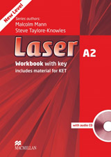 Laser A2 (3rd Edition) Workbook with key + CD