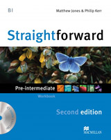 Straightforward 2nd Edition Pre-Intermediate Workbook without Key Pack