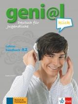 Genial klick A2 Lehrerhandbuch mit integriertem Kursbuch