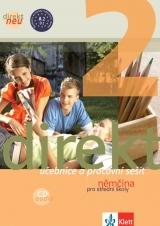 Direkt 2 neu, učebnice + pracovní sešit a Audio CD