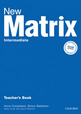 New Matrix Intermediate Teacher´s Book