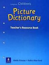 LONGMAN CHILDREN´S PICTURE DICTIONARY Teacher´s Resource Book