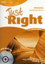 Just Right (2nd Edition) Elementary Workbook with Key & Audio CD