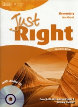 Just Right (2nd Edition) Elementary Workbook without Key with Audio CD