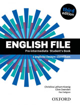 English File Pre-Intermediate (3rd Edition) Student´s Book Czech Edition