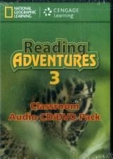Reading Adventures 3 CD/DVD