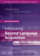 Introducing Second Language Acquisition (2nd Edition)