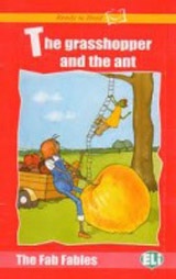 Ready to Read The Fab Fables The Ant and the Grasshopper - Book + Audio CD
