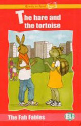 Ready to Read The Fab Fables The Hare and the Tortoise - Book + Audio CD