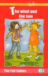Ready to Read The Fab Fables The Wind and the Sun - Book + Audio CD