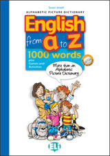 ENGLISH FROM A TO Z Book + audio CD