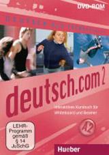 deutsch.com 2 Interaktives Kursbuch für Whiteboard und Beamer – DVD-ROM