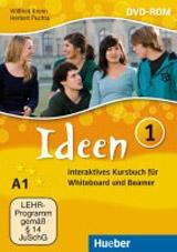 Ideen 1 Interaktives Kursbuch für Whiteboard und Beamer – DVD-ROM