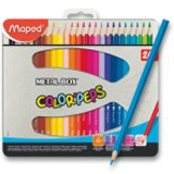 Pastelky Maped Color Peps Metal Box - 24 barev