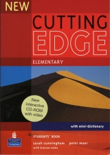 New Cutting Edge Elementary Student´s Book with CD-ROM