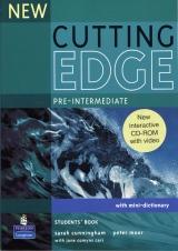 New Cutting Edge Pre-Intermediate Student´s Book + CD-ROM