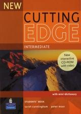 New Cutting Edge Intermediate Student´s Book + CD-ROM