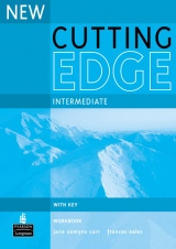 New Cutting Edge Intermediate Workbook + key