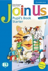 Join Us for English Starter Pupil´s Book