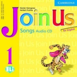 Join Us for English 1 Songs Audio CD