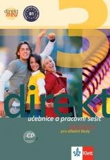 Direkt 3 neu, učebnice + pracovní sešit a Audio CD