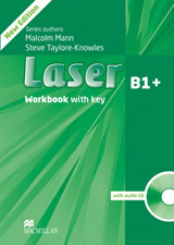Laser (3rd Edition) B1+ Intermediate Workbook with Key & CD Pack