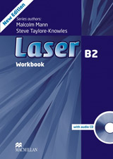 Laser (3rd Edition) B2 Workbook without Key & CD Pack