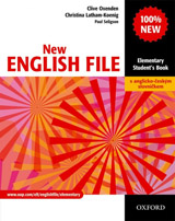 NEW ENGLISH FILE ELEMENTARY STUDENT´S BOOK + CZECH WORDLIST