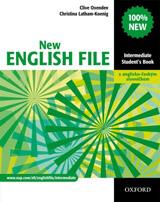 NEW ENGLISH FILE INTERMEDIATE STUDENT´S BOOK + CZECH WORDLIST