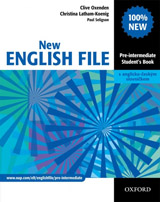 NEW ENGLISH FILE PRE-INTERMEDIATE STUDENT´S BOOK + CZECH WORDLIST