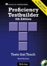 New Proficiency Testbuilder (4th Edition) Student´s Book with Key & Audio CD