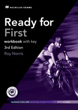 Ready for First (3rd edition) Workbook & Audio CD Pack with Key