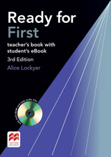 Ready for First (3rd Edition) Teacher´s Book with Class Audio CDs, DVD-ROM & eBook