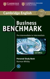 Business Benchmark Pre-Intermediate to Intermediate (2nd Edition) BULATS and Business Preliminary Personal Study Book