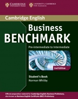 Business Benchmark Pre-Intermediate to Intermediate (2nd Edition) Business Preliminary Student´s Book
