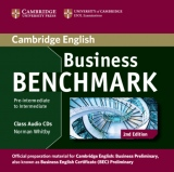 Business Benchmark Pre-Intermediate to Intermediate (2nd Edition) Business Preliminary Class Audio CDs (2)