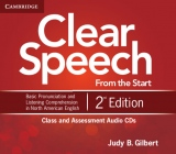 Clear Speech from the Start 2nd ed. Class and Assessment Audio CDs (4)