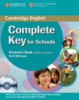 Complete Key for Schools Student´s Book without answers with CD-ROM doprodej