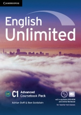 English Unlimited Advanced Coursebook with e-Portfolio and Online Workbook