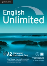 English Unlimited Elementary Coursebook with e-Portfolio and Online Workbook