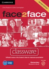 face2face 2nd edition Elementary Classware DVD-ROM