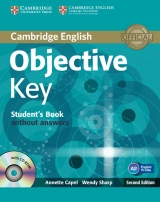 Objective Key 2nd Edition Student´s Book without answers with CD-ROM