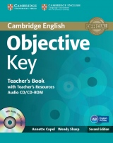 Objective Key 2nd Edition Teacher´s Book with Teacher´s Resources Audio CD/CD-ROM