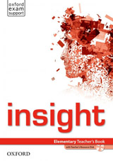 Insight Elementary Teacher´s Book and Teacher´s Resource MultiROM Pack